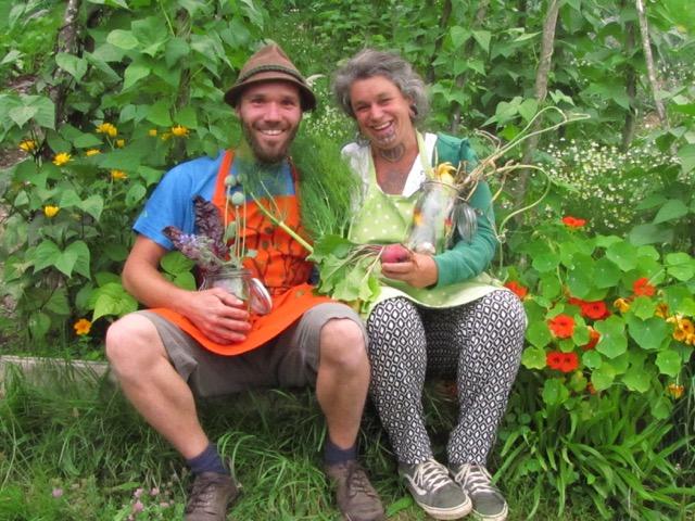Einmachkurs Heidi und Matthias